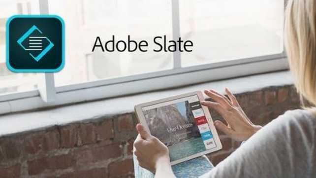 Adobe presenta Slate