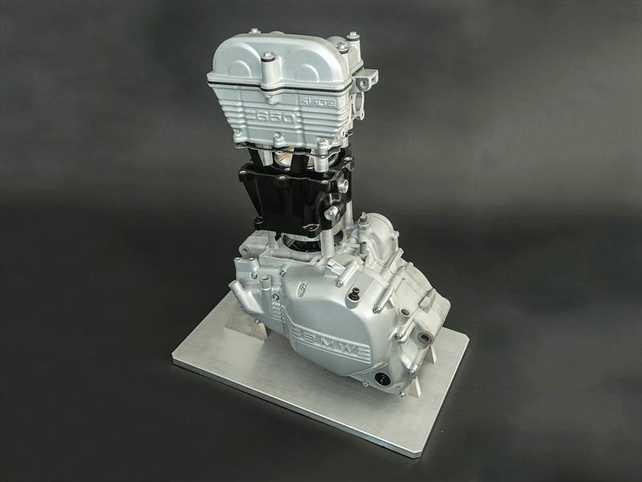 ¿Motores de plástico en el futuro?