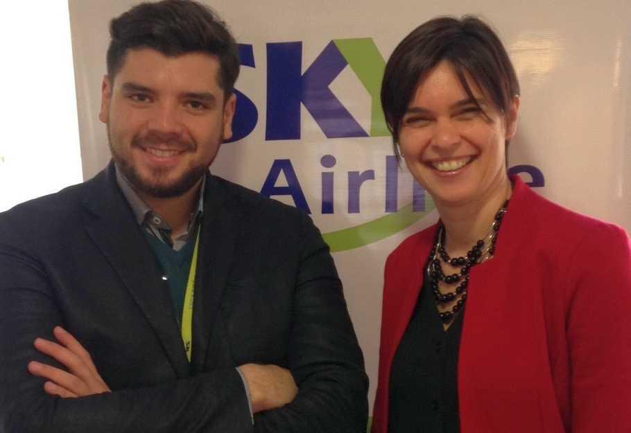 Sky Airline busca transportar más de 200.000 pasajeros este año entre Argentina y Chile