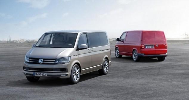 Volkswagen T6 Multivan y Transporter