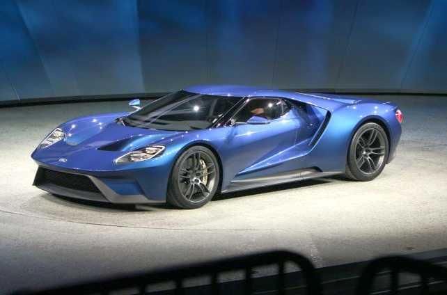 Ford reveló la tecnologia del nuevo Ford GT