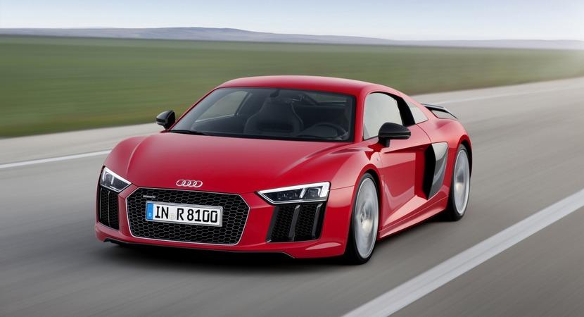 El Audi R8 no tendrá una versión turbo por el momento