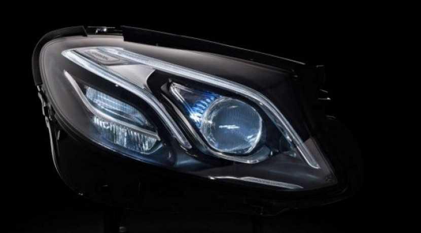 Éste es el equipo de iluminación que llevará el tecnológico Mercedes Clase E 2016