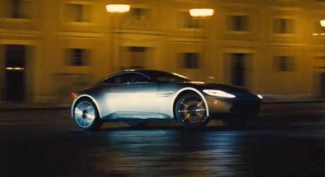 Video: Así sale el Aston Martin DB10 en el tráiler de James Bond: SPECTRE