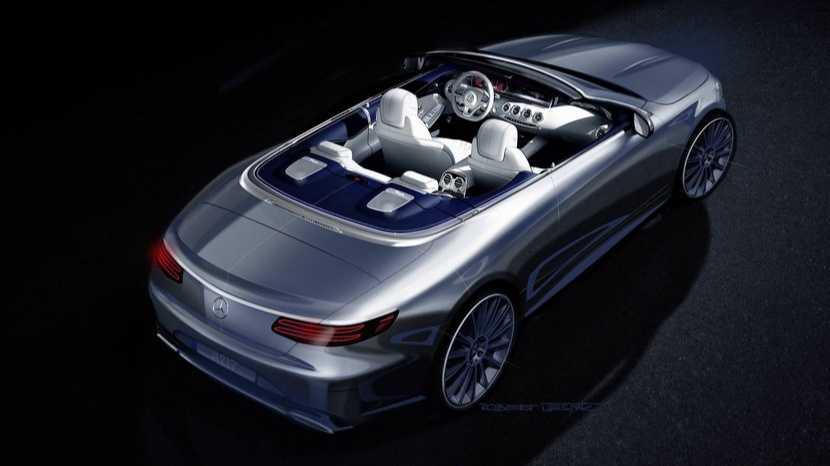 Mercedes Clase S Cabrio, un render oficial nos adelanta su aspecto