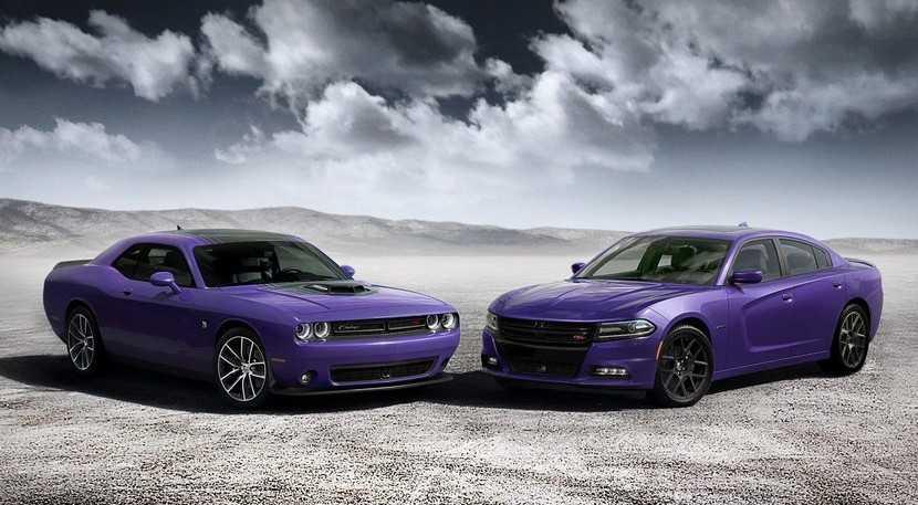 El mítico color Plum Crazy vuelve a los Dodge Charger y Challenger
