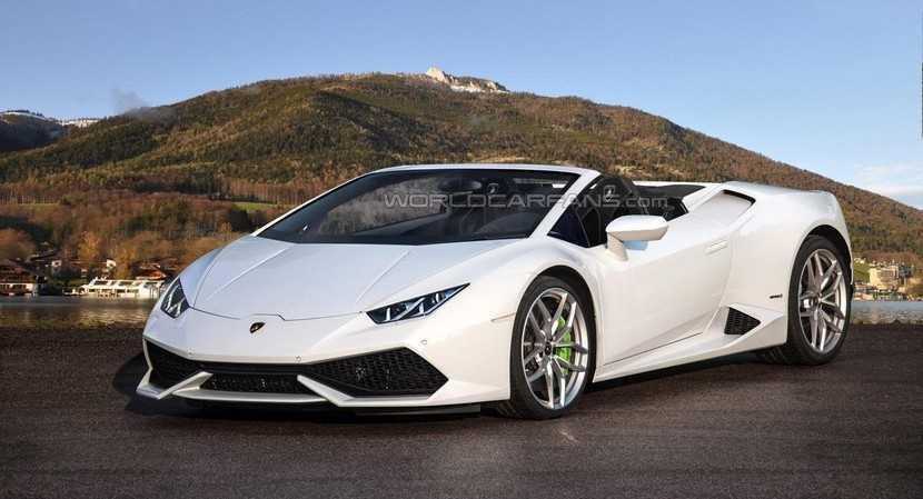 Se confirma la presentación del Lamborghini Huracán Spyder en Frankfurt