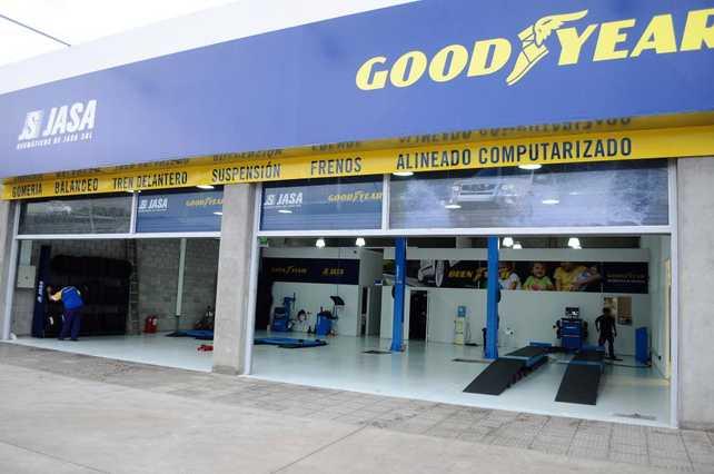 Nuevo local de Goodyear