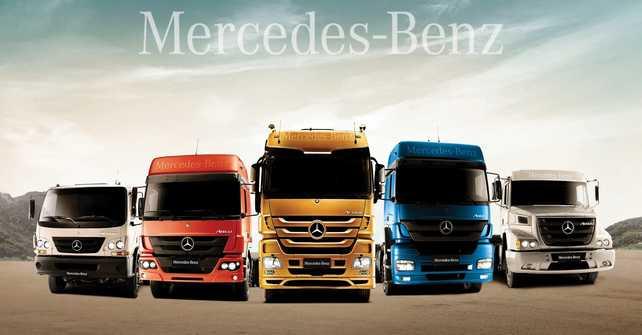 Mercedes Benz con Euro 5