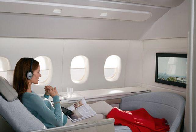 """Air France, elegida """"Mejor primera clase en los vuelos entre China y Europa"""""""