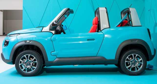 Citroën E-MEHARI se expone en  #galeriEmehari
