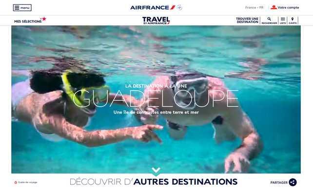 Air France presenta su nueva guía de viajes digital