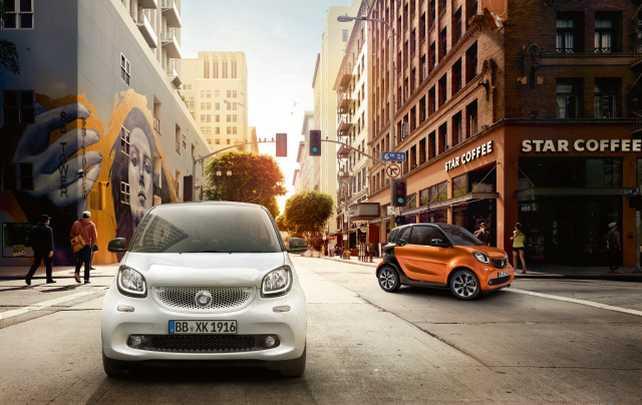 Mercedes-Benz Argentina lanza los nuevos smart fortwo y forfour
