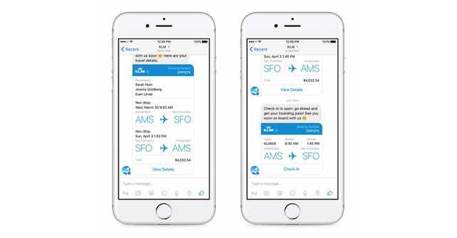 KLM se convierte en la primera aerolínea en brindar servicio al cliente a través de Facebook Messenger