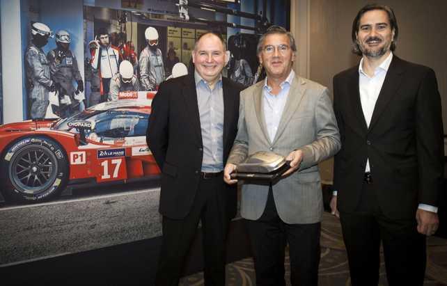 Nordenwagen S.A. distinguido como importador del Año de Porsche en América Latina