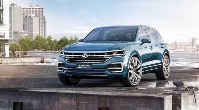 Volkswagen T-Prime Concept GTE, anticipando el nuevo SUV grande de la marca