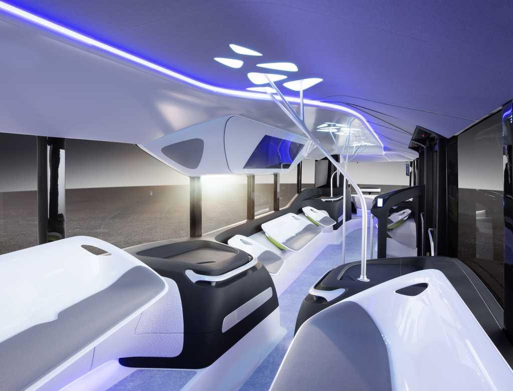 Future Bus de Mercedes-Benz. Foto 1
