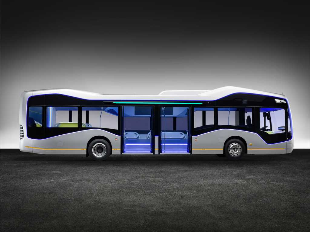 Future Bus de Mercedes-Benz. Foto 2