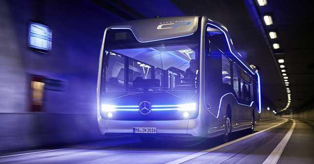 El Future Bus de Mercedes-Benz ya es una realidad