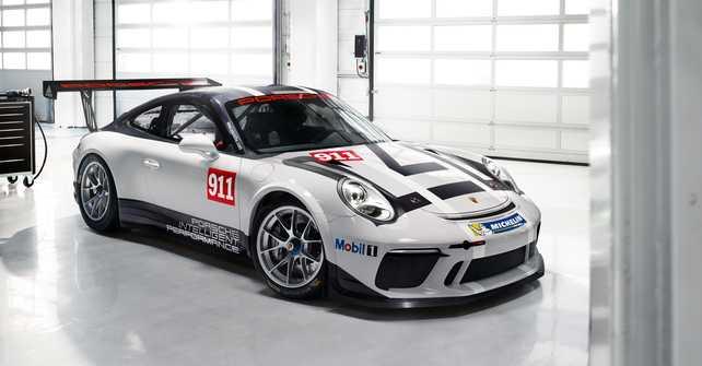 Nuevo 911 GT3 Cup con un propulsor ultramoderno