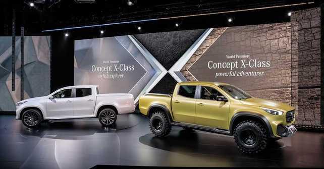Mercedes-Benz Concept CLASE X: Primer anticipo de la nueva pick-up de la marca de la estrella