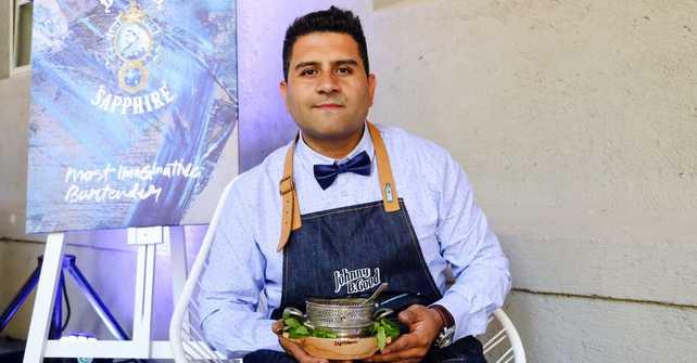 Gustavo Brizuela, es el ganador de The Most Imaginative Bartender