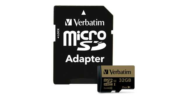 Verbatim presenta sus nuevas tarjetas de memoria.