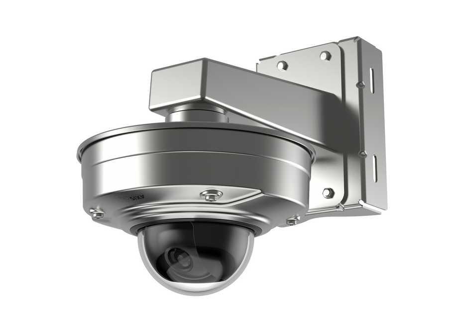 Axis presenta cámaras ultrarresistentes en acero inoxidable