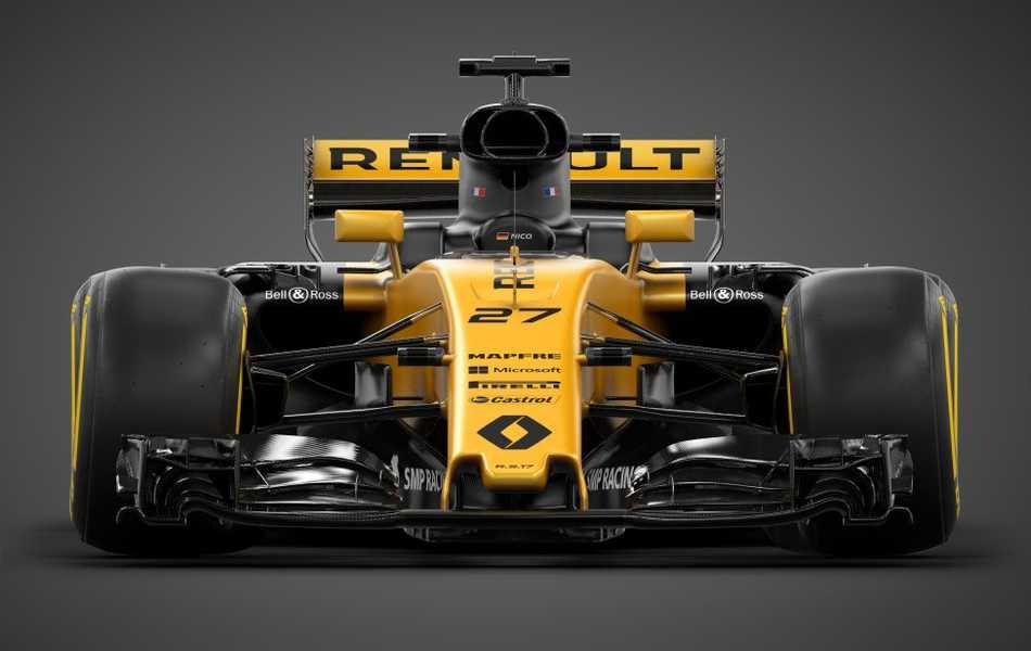 Renault Sport Formula One Team presentó el nuevo R.S. 17