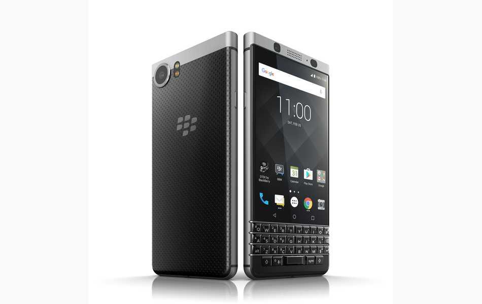 Se presentó el nuevo BlackBerry KEYone