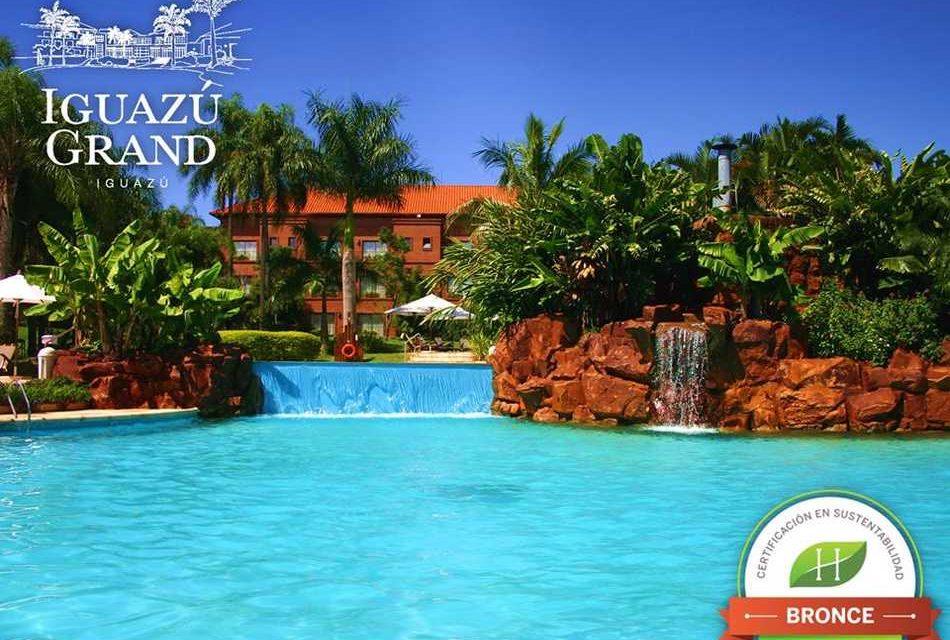 Iguazú Grand y Panoramic Grand certificaron la Ecotiqueta de Hoteles más Verdes
