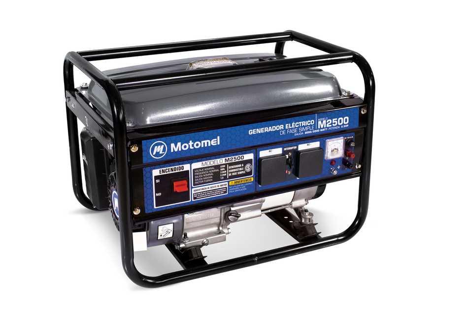 Motomel presenta su gama de generadores eléctricos