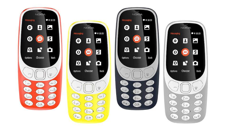 Nokia apela a la nostalgia y vuelve con el Nokia 3310