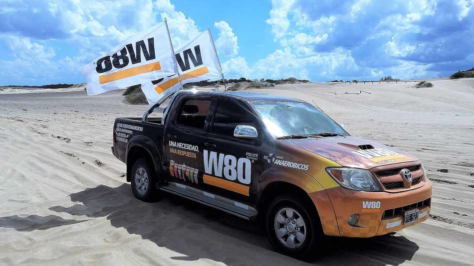 W80 en la costa argentina
