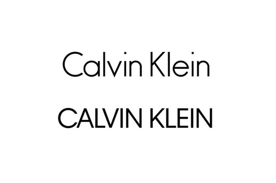 """Calvin Klein hace un cambio """"mayúsculo"""" a su logotipo"""