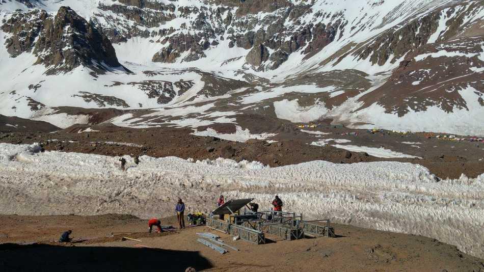 La tecnología 4G de Movistar llega al Aconcagua