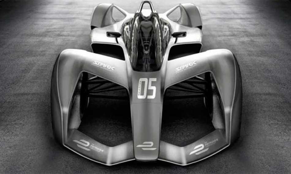 Revelado el Fórmula E de nueva generación