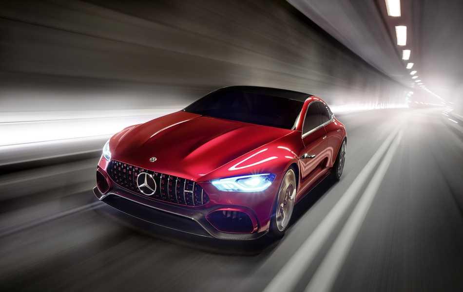 Mercedes-AMG GT Concept, el vehículo del futuro