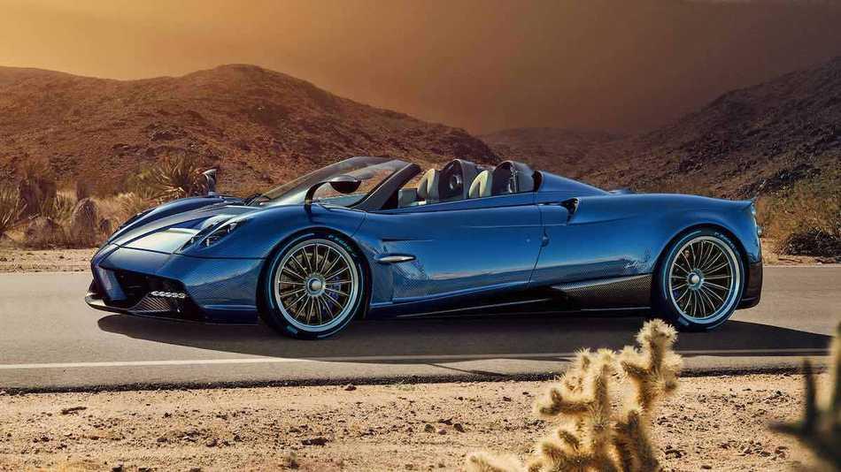 Pagani presentará un convertible de 764 caballos de fuerza y de $2.4 millones