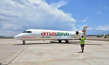 Amazonas realizará su vuelo inaugural que conectará Salta con Paraguay e Iquique