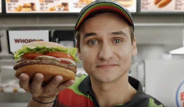 Burger King arriesga con la tecnología en su nueva campaña y el resultado es un gran
