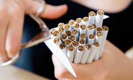 ¿Postergar la decisión de dejar de fumar por miedo a engordar?