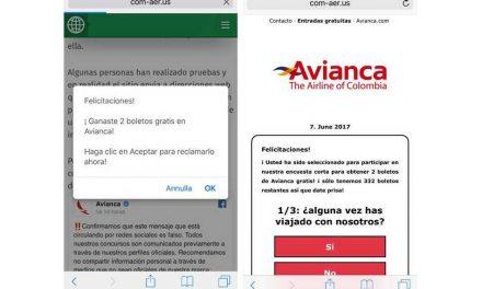 Campaña fraudulenta que ofrece boletos de avión gratis se propaga por Facebook