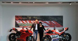 Ducati y Shell Advance celebran la renovación de su alianza tecnológica por tres años más