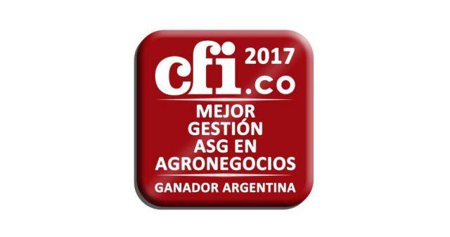 Molino Cañuelas recibió un premio internacional por sus prácticas ambientales y sociales