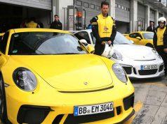 Alianza de Porsche y neumáticos Dunlop