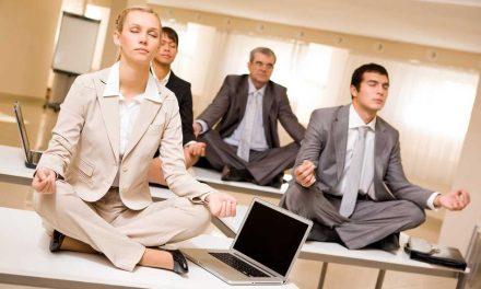 Meditando en el trabajo