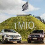 Mercedes-Benz superó el millón de GLC vendidas