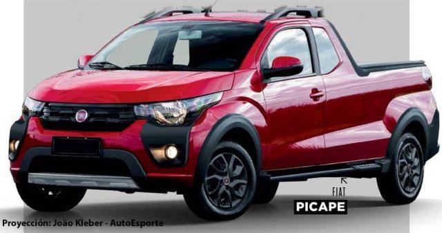Fiat ya trabaja en el reemplazo de la pick-up Strada