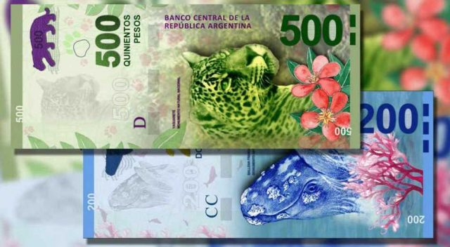 Casi uno de cada 10 billetes que circulan son de $ 200 y $500